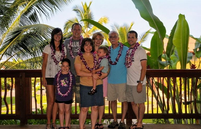 Us in Hawaii in 2009