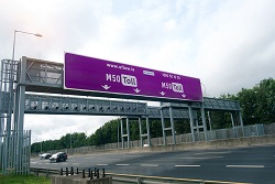 The M50 Toll In Dublin, Ireland