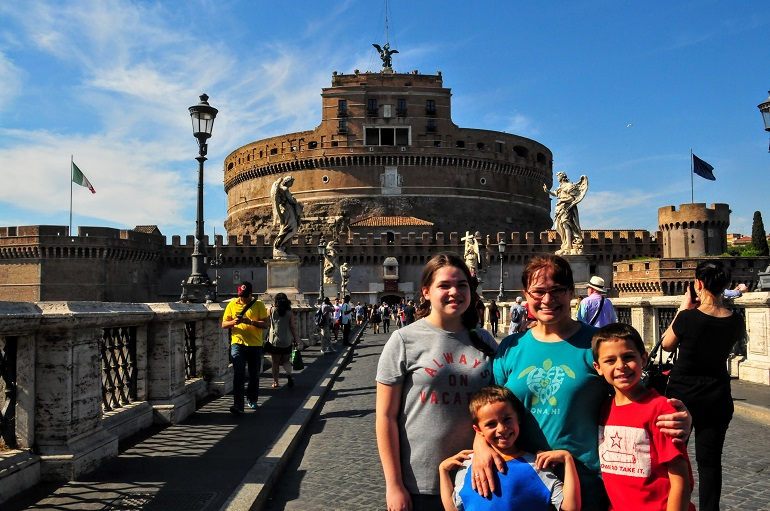 Rome in a day and a half - Castel Sant'Angelo