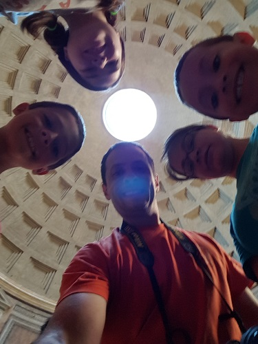 Rome in a day and a half - The Pantheon Oculus