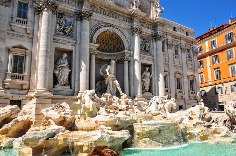 Rome in a day and a half - The Trevi Fountain