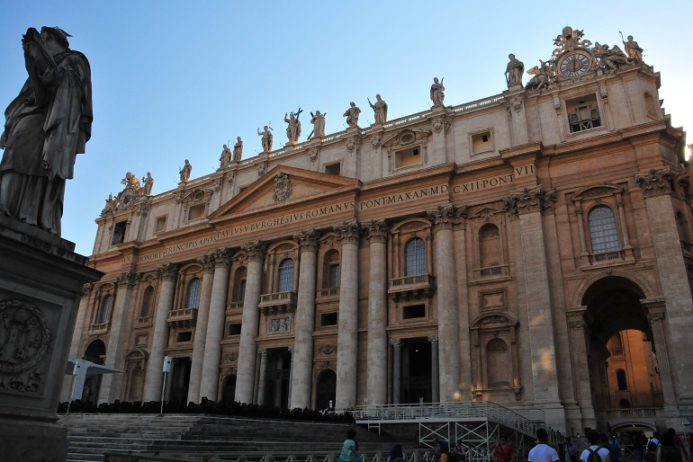 Rome in a day and a half - St. Peter's Basilica - Vatican City