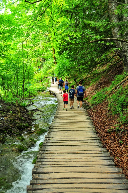 Plitvice Lakes - Wooden Plank Trail