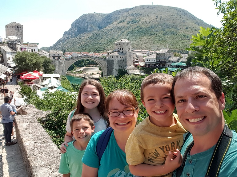 My family in Mostar